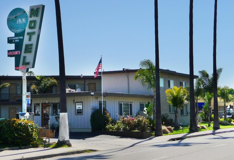 Bayshore Inn Motel, Ventura, Hotel Front
