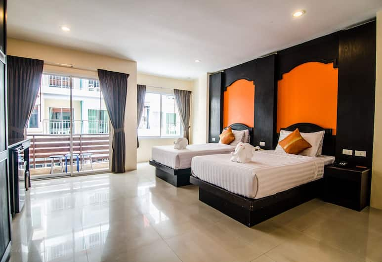 FunDee Boutique Hotel, Patong, Standard room, Guest Room