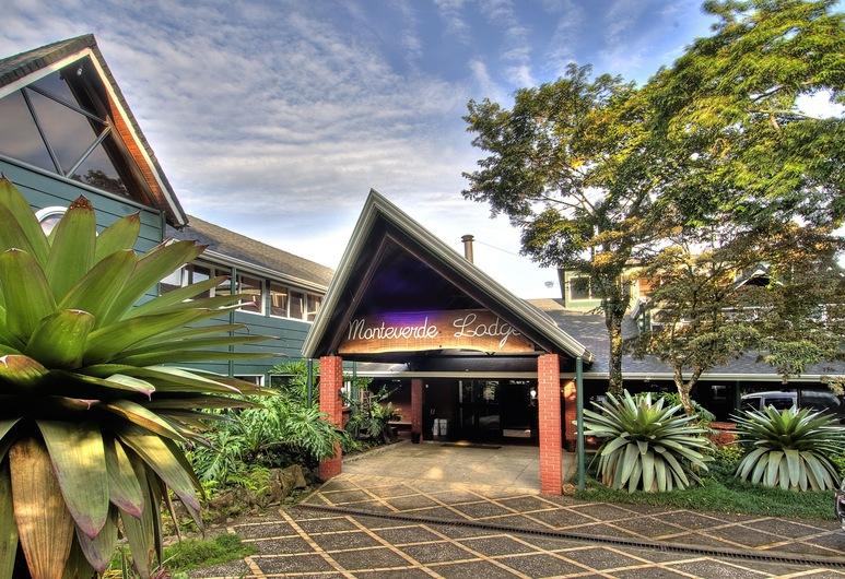 Monteverde Lodge & Gardens, Monteverde, Vchod do hotela