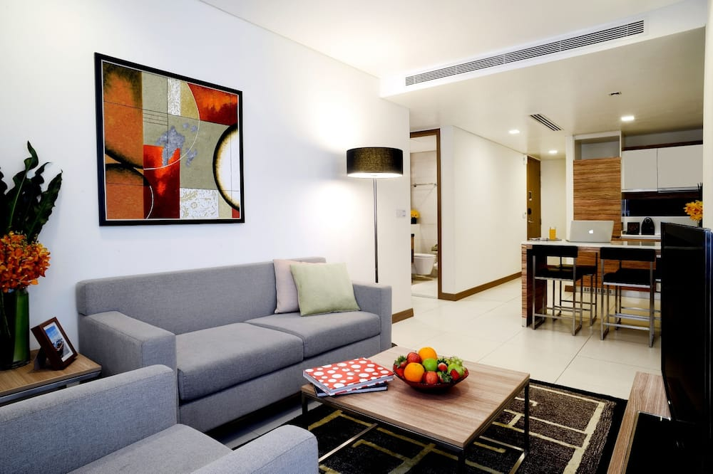 Room, 2 Bedrooms (Residences) - Living Area