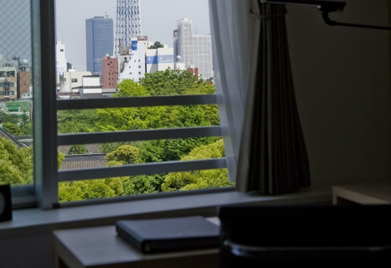 Residential Hotel B:CONTE Asakusa, Tokyo, View from Hotel