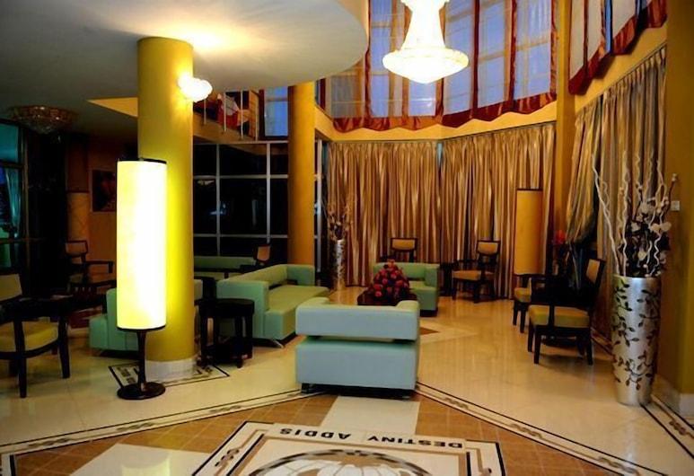 Destiny Addis Hotel, Adis Abeba, Poilsio zona vestibiulyje