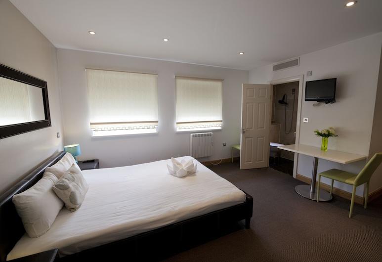 NOX HOTELS - West End Lane II, Londres, Studio, coin cuisine, Chambre