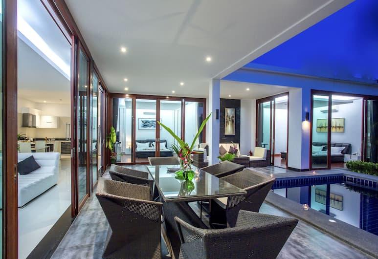 華欣蓮花住宅別墅酒店, Hua Hin, 2 Bed room Private pool villa, 陽台
