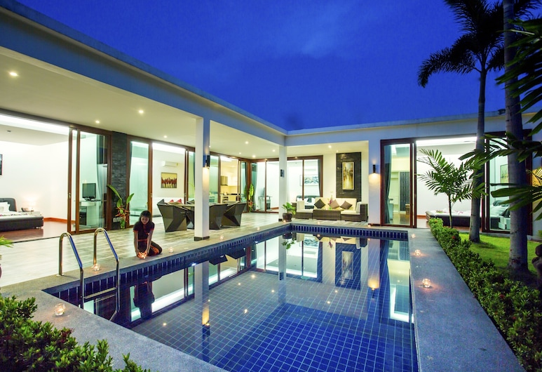 Lotus Residential Villas Hua Hin, Hua Hin, 2 Bed room Private pool villa, Terrace/Patio