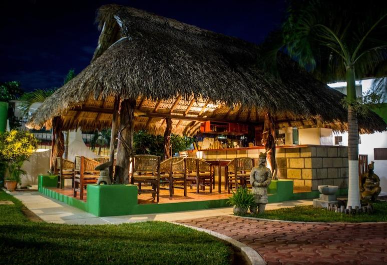 Suites & Hotel Punta Esmeralda, Puerto Escondido, Terasa restaurace