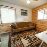 Cabaña Deluxe, 1 habitación, para no fumadores - Sala de estar