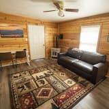 Cabaña Premium, 1 cama King size, para no fumadores, cocina - Sala de estar