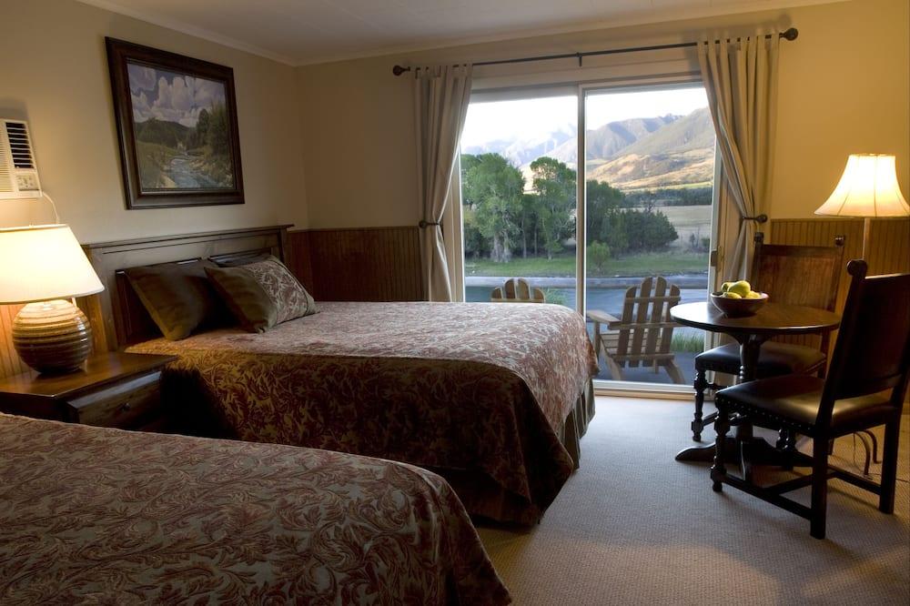 Chambre Standard, 2 grands lits, non-fumeurs - Salle de séjour