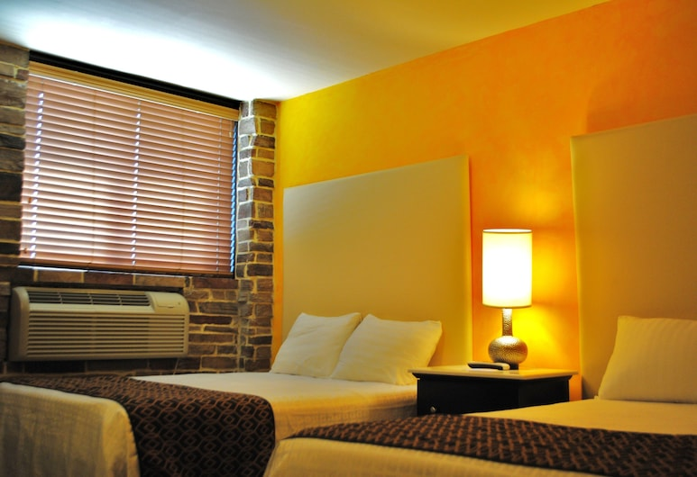 Surfside Motel, Howard Beach, Deluxe Double Room, 2 Double Beds, Non Smoking, Guest Room