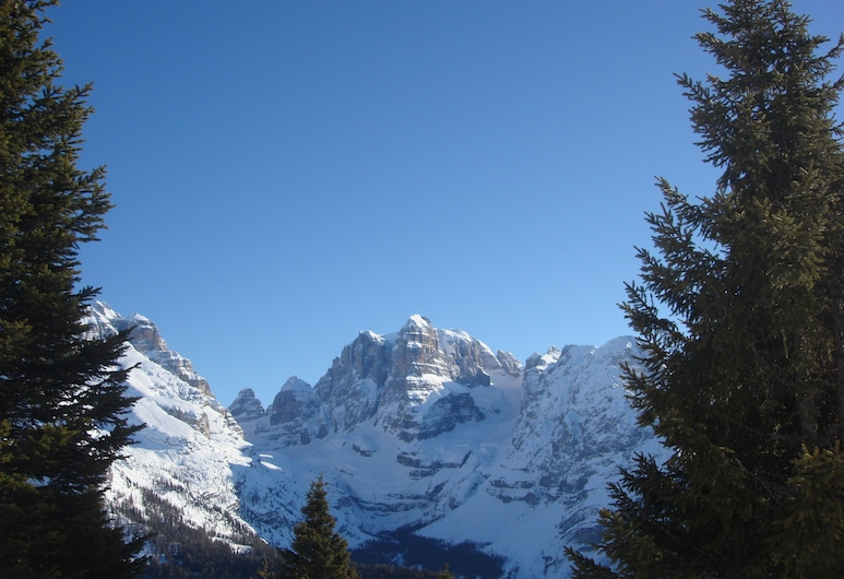 Europa, Madonna di Campiglio, Vista a la montaña