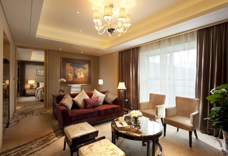 Hilton Xian, Xi'an, Izba typu Deluxe, Obývacie priestory