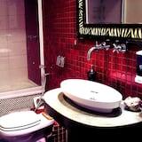 Romantik-dobbeltværelse - 1 queensize-seng - eget badeværelse - Badeværelse