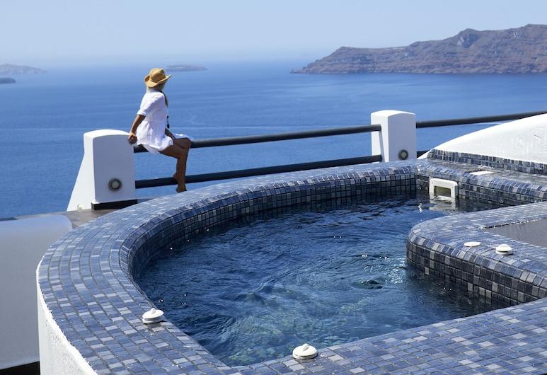 Oia Suites, Santorini, Phòng Suite Premier, Bồn tắm nước nóng, Bồn tắm thủy lực