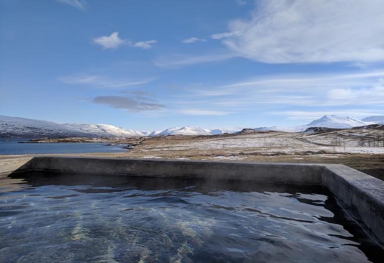 Skjaldarvik Guest House, Άκουρεϋρι, Εξωτερική μπανιέρα υδρομασάζ