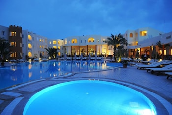 Selline näeb välja Hotel Green Palm, Midoun