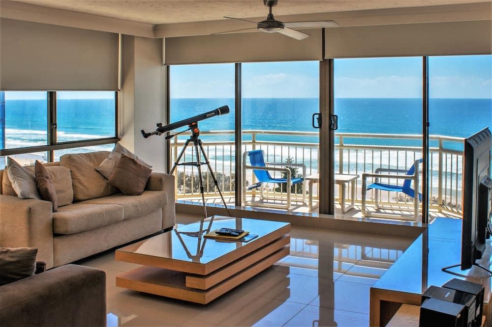 Apartment, 2 Bedrooms, Ocean View (7 Night Rate) - Living Room