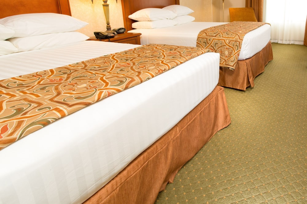 Luksusa numurs, 2 divguļamās karalienes gultas, ledusskapis un mikroviļņu krāsns (2 Rooms, Sofabed) - Viesu numurs