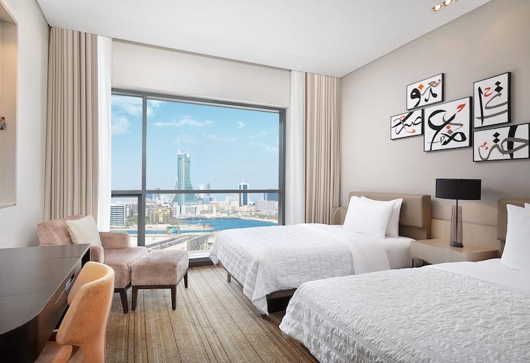 르 메르디앙 시티 센터 바레인, 마나마, 클럽룸, 싱글침대 2개, 객실