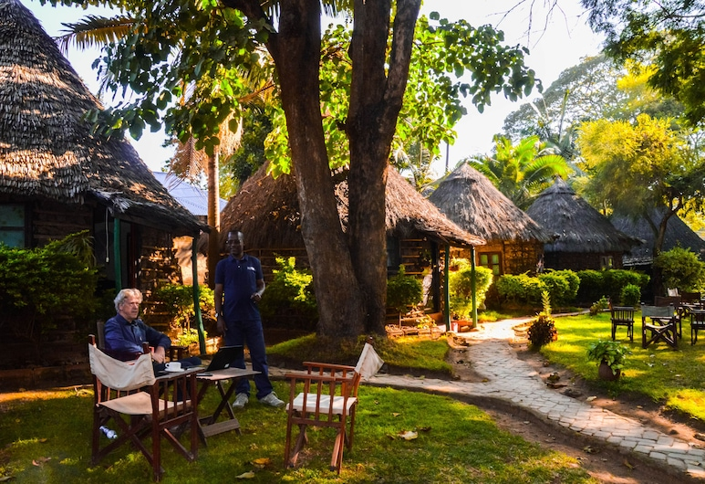 L'Oasis Lodge & Restaurant, Arusha, Courtyard