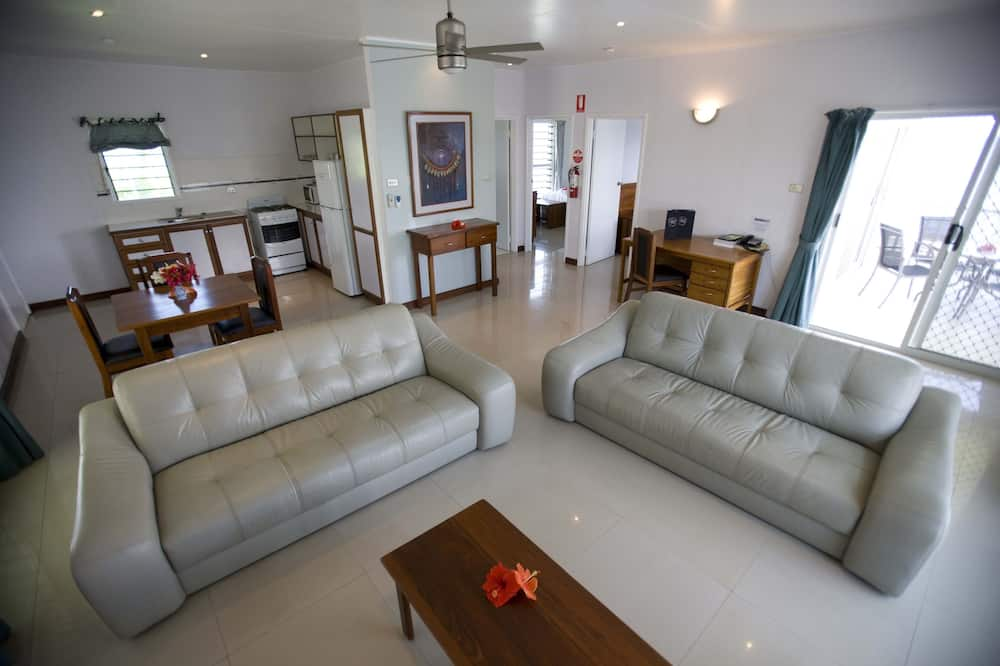 Lägenhet Executive - 2 sovrum - icke-rökare - havsutsikt - Vardagsrum