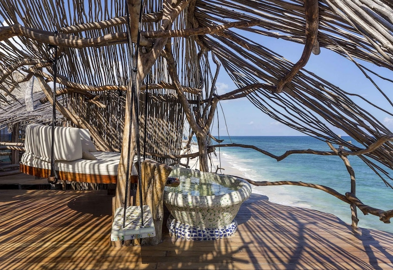 Azulik, Tulum, Sky Villa, Guest Room