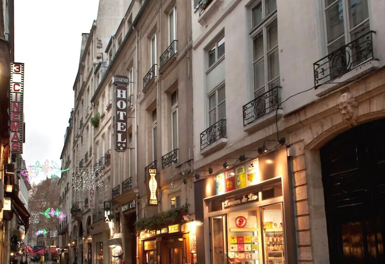 Hotel Eugenie, Paris, Hotel Front