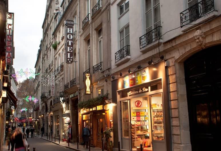 Hotel Eugenie, Париж, Фасад отеля