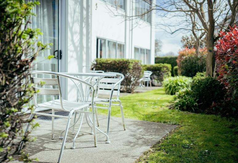 Airport Delta Motel, Christchurch, Twin Studio, Garden Area, Terrace/Patio