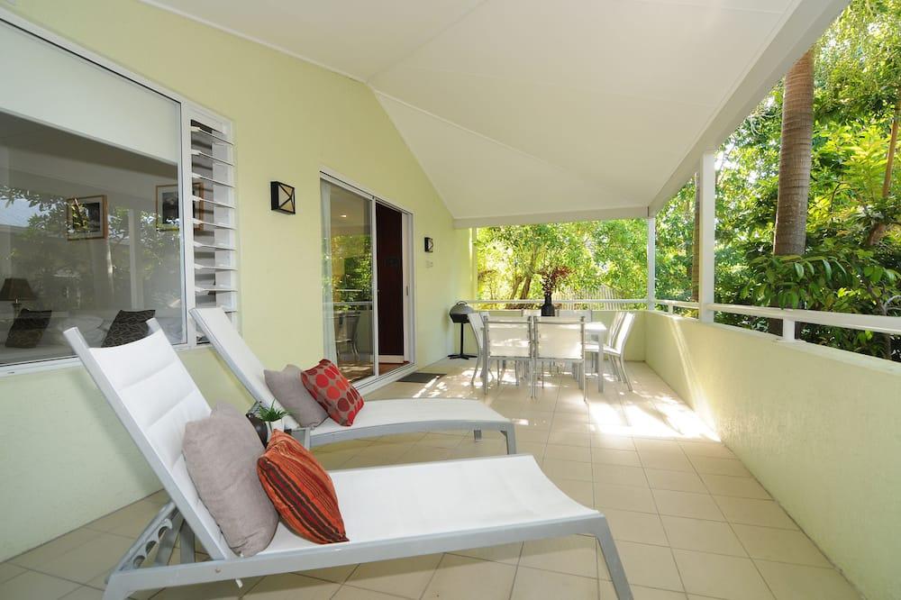 Standaard appartement, 2 slaapkamers, 2 badkamers - Balkon