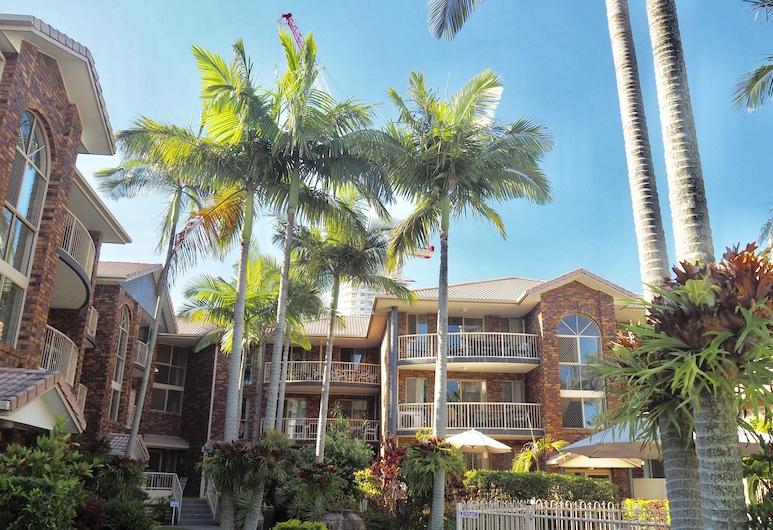 Oceanside Cove Holiday Apartments, Burleigh Heads, Façade de l'hébergement