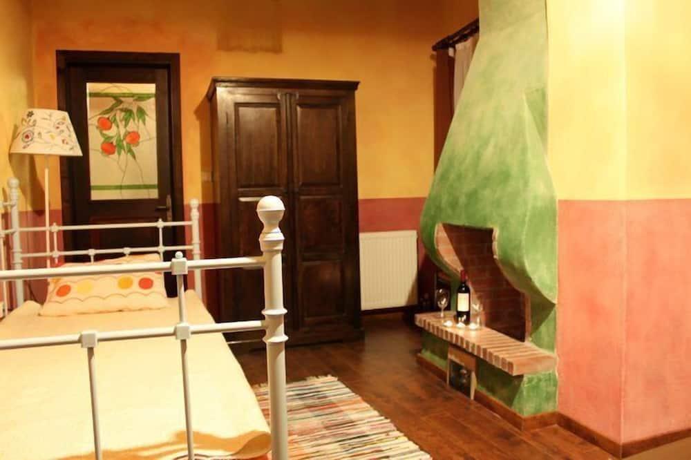 Habitación doble estándar (Meteora View) - Sala de estar