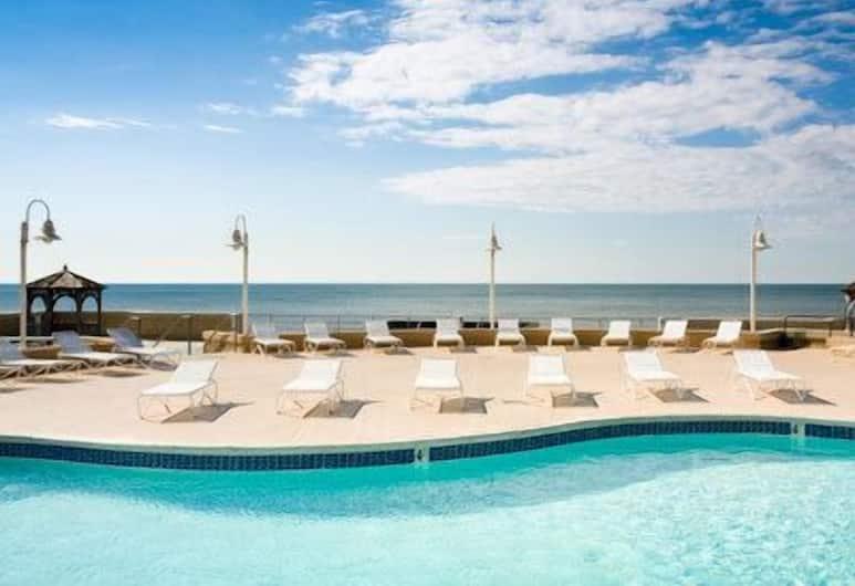 Atlantic Palace Suites, Atlantik Sitis, Lauko baseinas