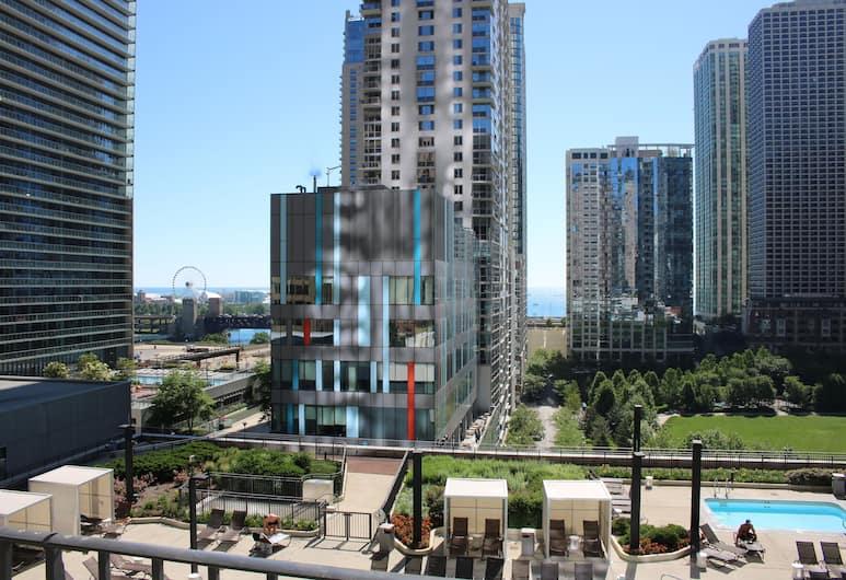 Radisson Blu Aqua Hotel Chicago, Chicago, View from Hotel