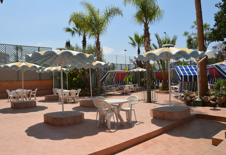 Residence Yasmina, Agadir, Restaurante al aire libre