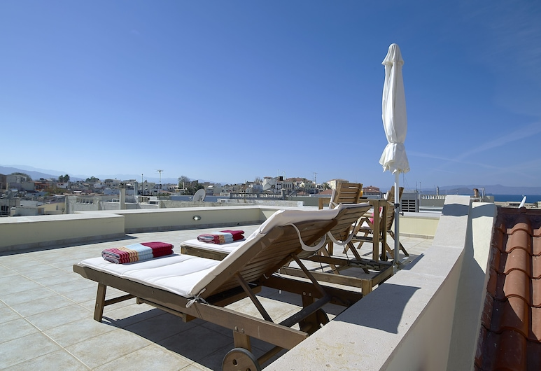 Boutique Hotel Fortino, Chania, Suite, Balcony (duplex), Balcony