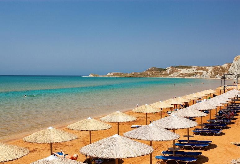Apollonion Asterias Resort and Spa, Céphalonie, Plage
