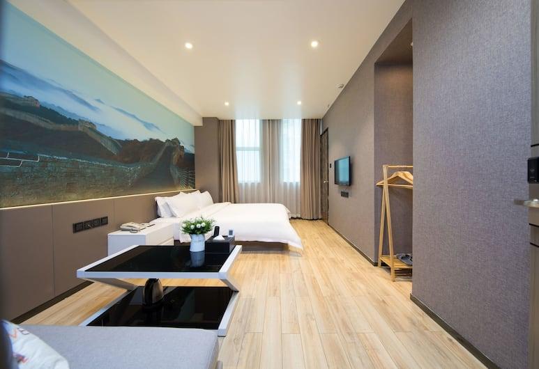 Hengdong Business Hotel - Guangzhou, Guangzhou, Kamar Deluks (King Bed), Kamar Tamu
