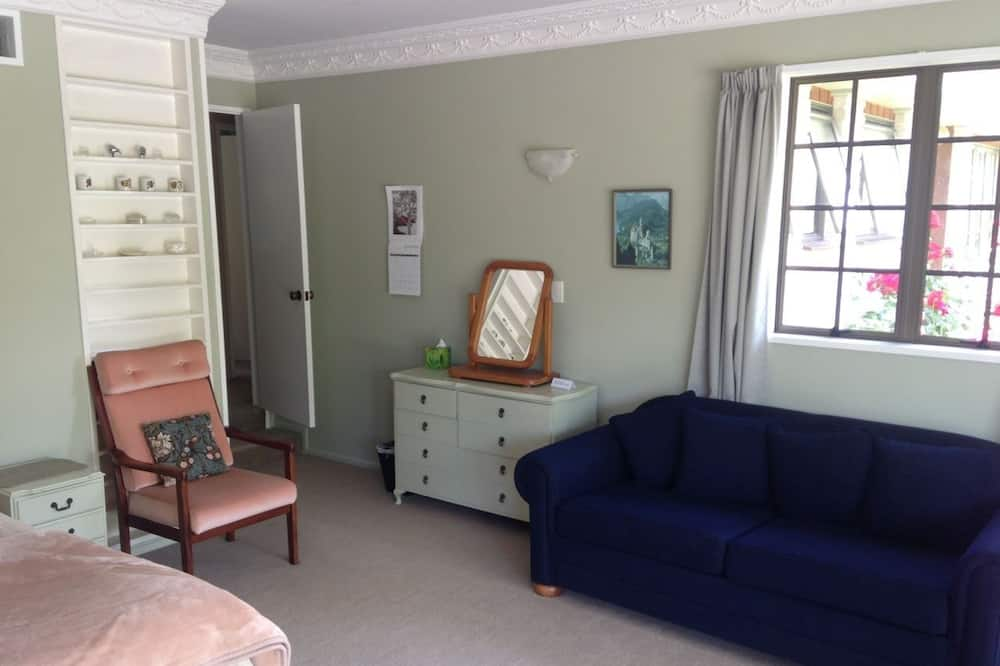 Улучшенный номер, смежные ванная комната и спальня - Зона гостиной