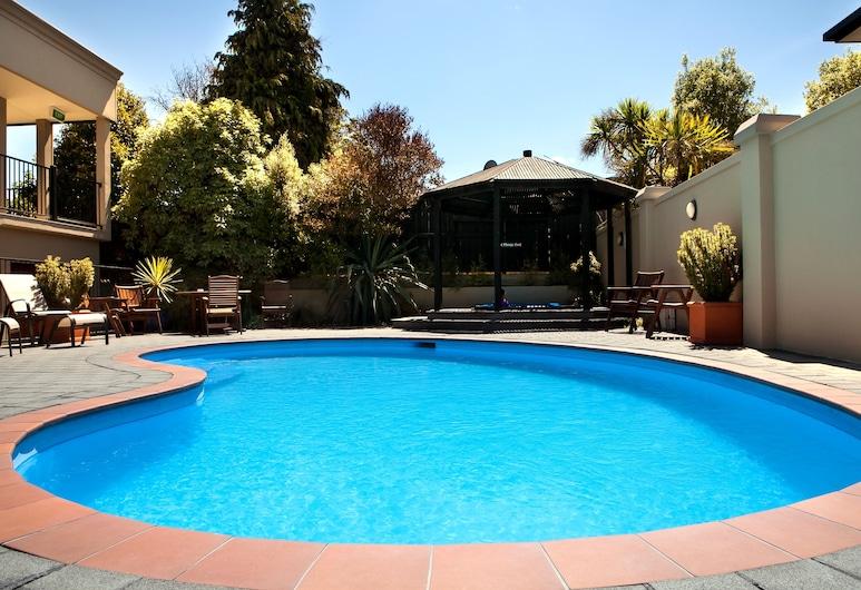 Chantillys Motor Lodge, Taupo, Εξωτερική πισίνα