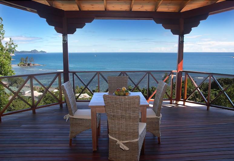 Villas de Jardin, האי מאהה, וילה, 2 חדרי שינה, נוף לאוקינוס, מרפסת/פטיו
