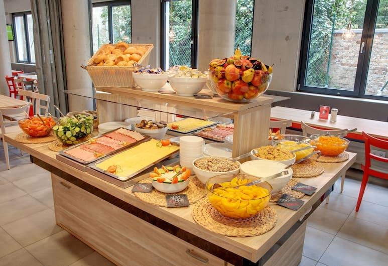 MEININGER Hotel Vienna Downtown Franz, Viena, Área para desayunar