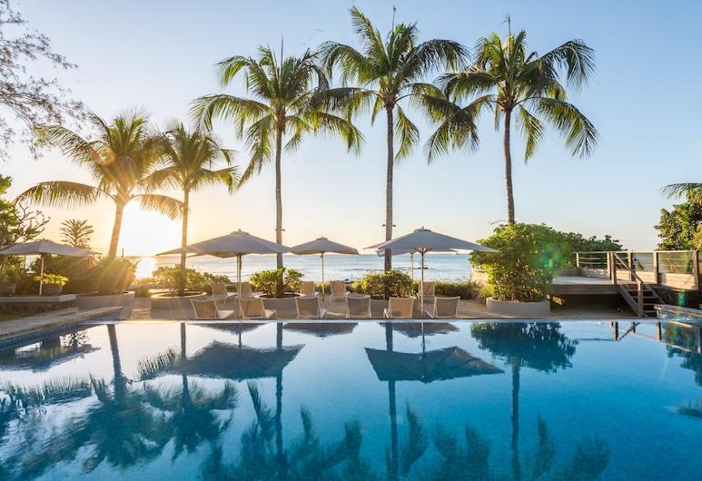 蒙舒瓦西海灘渡假酒店, 蒙舒瓦西, 室外泳池
