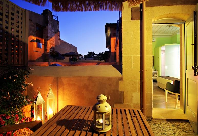 Ontas Fatma Hanoum Boutique Hotel, Χανιά, Superior Δωμάτιο (Yildiz & Sibel), Αίθριο/βεράντα