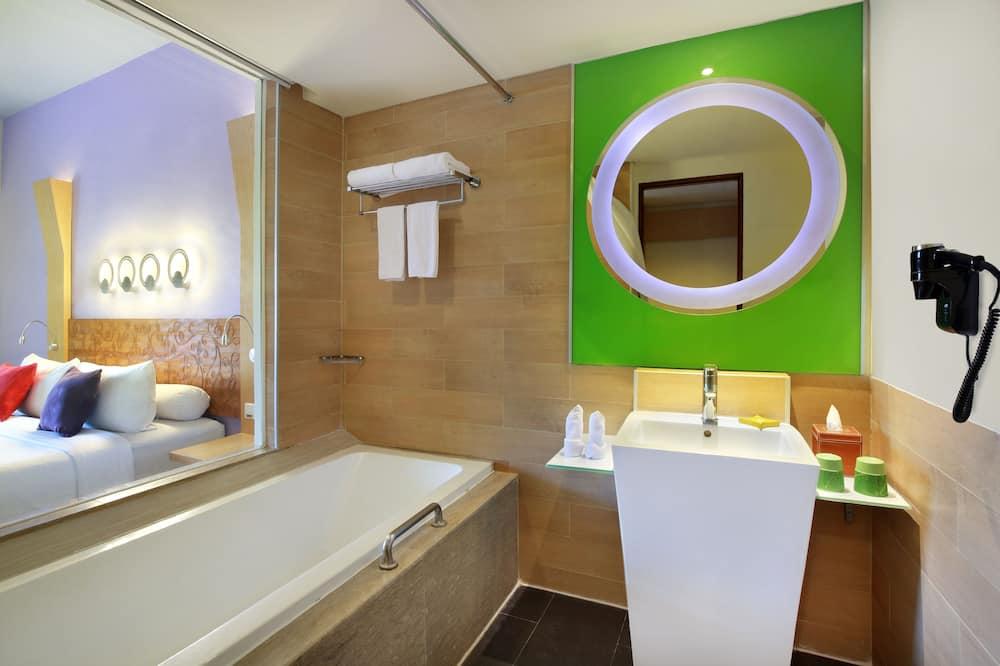 Habitación Deluxe, 2 camas individuales - Cuarto de baño