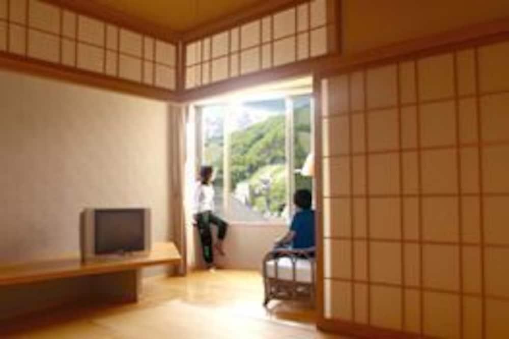 家庭客房, 共用浴室, 山景 (Traditional) - 客廳