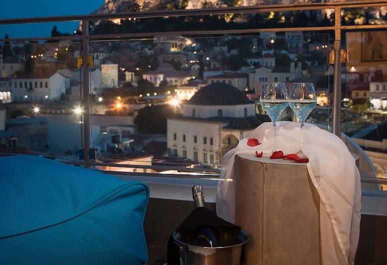 A for Athens, Atenas, Suíte (Red Suite, Acropolis View), Quarto