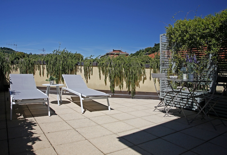 聖恩朱塞佩酒店, 切爾諾比爾, 陽台