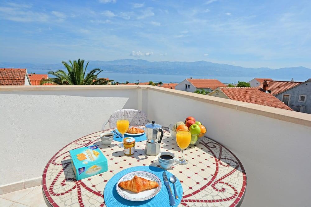 Standard apartman, 2 hálószobával, konyha - Erkély