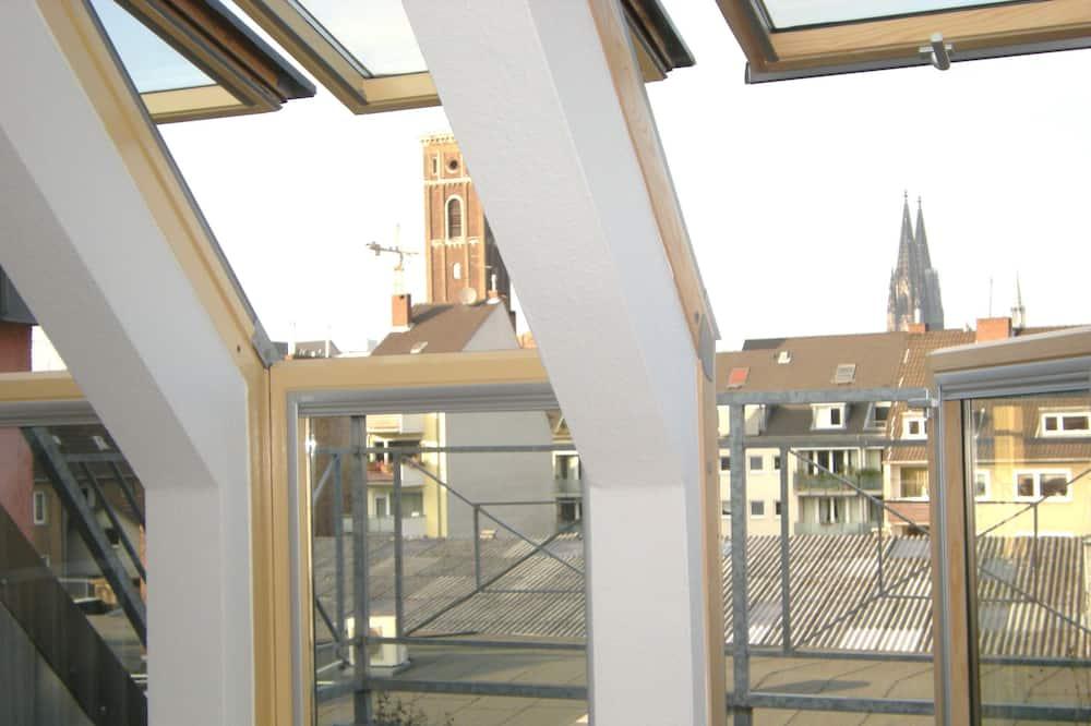Basic-Penthouse, 1 Doppelbett, Terrasse - Zimmer